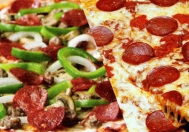 Half-Half Pizza